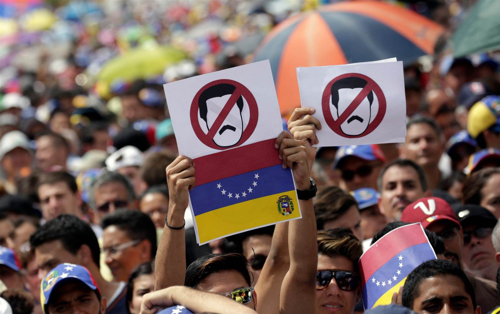 End the socialist Maduro regime