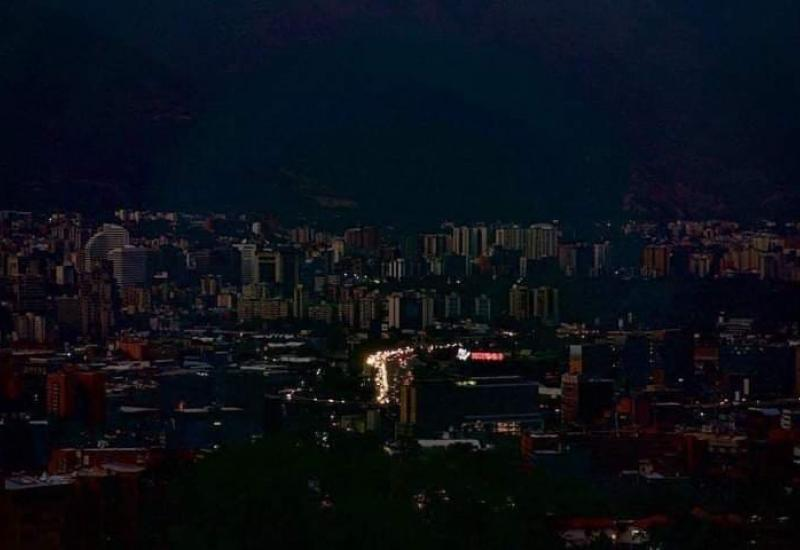 Blackout in Caracas, Venezuela